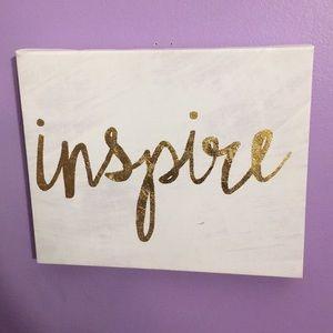 Inspire Wall Decor